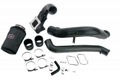"Featured Categories - 4"" Intake Kits - Wehrli Custom Fabrication - 2011-2016 LML Y-Bridge Kit w/ One Piece Intake"