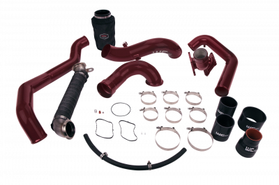 2006-2007 LBZ - Y-bridges & Intercooler Pipes - Wehrli Custom Fabrication - 2006-2007 LBZ Duramax High Flow Intake Bundle Kit