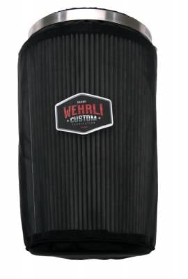 "4th Gen 6.7L 2010-18 - 4"" Intake Kits - Wehrli Custom Fabrication - Outerwears Air Filter Cover"