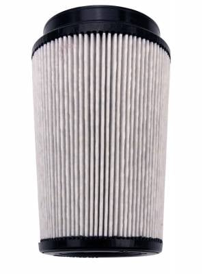 "2011-2016 LML - Intakes - Wehrli Custom Fabrication - Air Filter 4"" Inlet (Dry)"