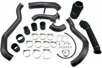 2001-2004 LB7 - Y-bridges & Intercooler Pipes - Wehrli Custom Fabrication - LB7 High Flow Intake Bundle Kit