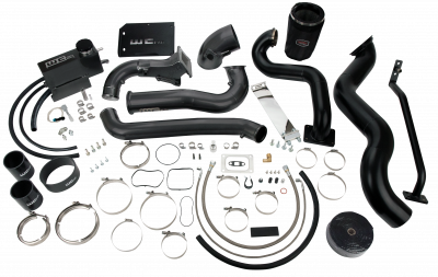 2011-2016 LML - Twin Turbo Kits - Wehrli Custom Fabrication - 2011-2016 LML Duramax S400/Stock Twin Kit