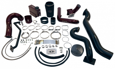 Wehrli Custom Fabrication - 2007.5-2010 LMM Duramax S400/Stock Twin Turbo Kit