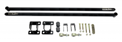 "2011-2016 LML - Chassis & Suspension - Wehrli Custom Fabrication - 2011-2019 Duramax 68"" Traction Bar Kit (ECLB, CCLB)"