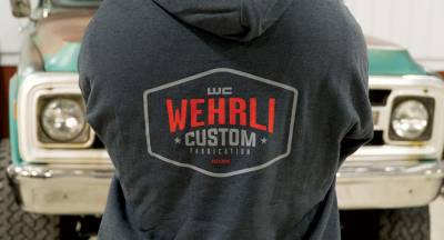 Apparel & Merchandise - Sweatshirts & Jackets - Wehrli Custom Fabrication - Hooded Sweatshirt