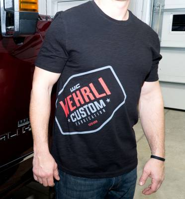 Wehrli Custom Fabrication - Men's T-Shirt- Front Logo - Image 1