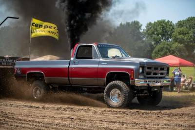 """Legally Altered- 1976 Duramax 2.6"""" Pull Truck Cover"""