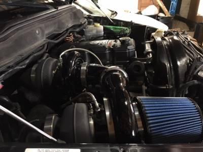 Wehrli Custom Fabrication - 2003-2007 5.9 Cummins S400/S300 Side by Side Twin Turbo Kit - Image 2