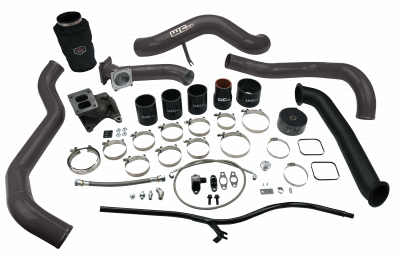 Wehrli Custom Fabrication - 2004.5-2005 LLY Duramax S300 Single Turbo Install Kit