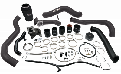 Turbo Kits - Single Turbo Kits - Wehrli Custom Fabrication - 2001-2004 LB7 Duramax S300 Single Turbo Install Kit