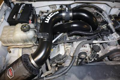 GLOSS BLACK- Shown with Stage 2 intake kit
