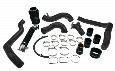 "Featured Categories - 4"" Intake Kits - Wehrli Custom Fabrication - 2004.5-2005 LLY Duramax High Flow Intake Bundle Kit"