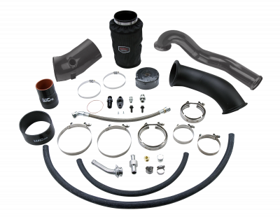 Featured Categories - Single Turbo Kits - Wehrli Custom Fabrication - 2010-2012 6.7 Cummins S400 High Mount 2nd Gen Swap Kit