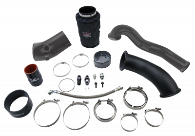 Featured Categories - Single Turbo Kits - Wehrli Custom Fabrication - 2007.5-2009 6.7 Cummins S400 High Mount 2nd Gen Swap Kit
