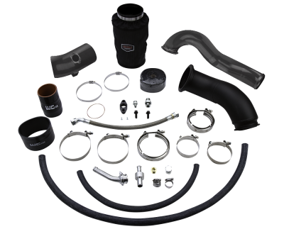 Featured Categories - Single Turbo Kits - Wehrli Custom Fabrication - 2010-2012 6.7 Cummins S300 High Mount 2nd Gen Swap Kit