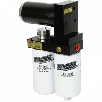 Fuel System - Lift Pumps - FASS Fuel System - Fass Titanium Signature Series 165 GPH Lift Pump for 2005-2018 Cummins