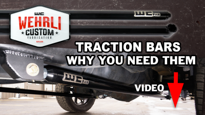 "Wehrli Custom Fabrication - 2011-2019 Duramax 68"" Traction Bar Kit (ECLB, CCLB) - Image 9"