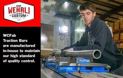"Wehrli Custom Fabrication - 2001-2010 Duramax 68"" Traction Bar Kit (ECLB, CCLB) - Image 6"