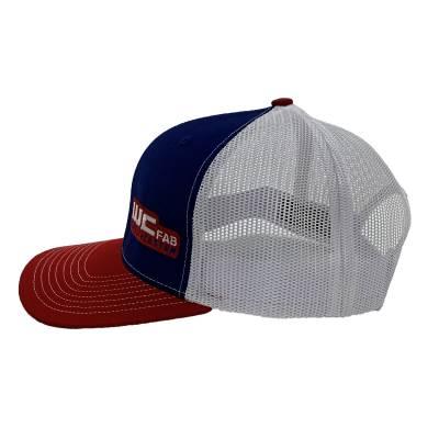 Wehrli Custom Fabrication - Snap Back Hat Red/White/Blue WCFab - Image 2