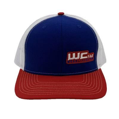 Wehrli Custom Fabrication - Snap Back Hat Red/White/Blue WCFab - Image 3