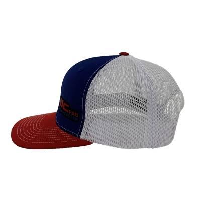 Wehrli Custom Fabrication - Snap Back Hat Red/White/Blue WCFab - Image 5