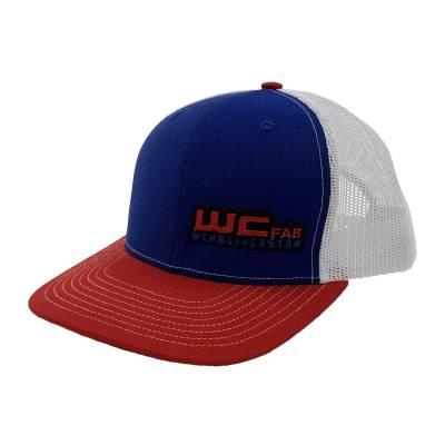 Wehrli Custom Fabrication - Snap Back Hat Red/White/Blue WCFab - Image 6