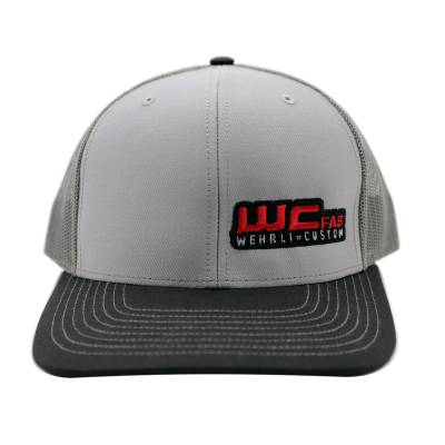 Wehrli Custom Fabrication - Snap Back Hat Grey/Charcoal/Black WCFab - Image 2