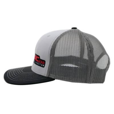 Wehrli Custom Fabrication - Snap Back Hat Grey/Charcoal/Black WCFab - Image 3