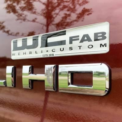 Apparel & Merchandise - Stickers, Banners, & Accessories - Wehrli Custom Fabrication - WCFab Gel Stickers