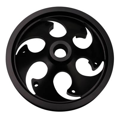 Wehrli Custom Fabrication - Duramax Billet CP3 Pulley Deep Offset Anodized Black - Image 2
