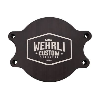 Wehrli Custom Fabrication - Duramax CP3 Block Off Plate - Image 1
