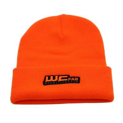 Apparel & Merchandise - Hats - Wehrli Custom Fabrication - Beanie Hat Orange - WCFab