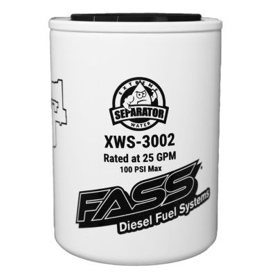 Fuel System Parts; Injectors, Lift Pumps, CP3's - Lift Pumps - FASS Fuel System - Fass Extreme Water Separator