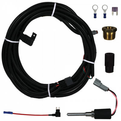Fuel System - Lift Pumps - FASS Fuel System - Fass Titanium Series Optional Electric Diesel Fuel Heater Kit