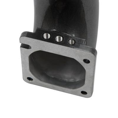 """Wehrli Custom Fabrication - 2003-2007 5.9L Cummins 3.5"""" High Flow Intake Horn & Intercooler Pipe Kit - Image 2"""