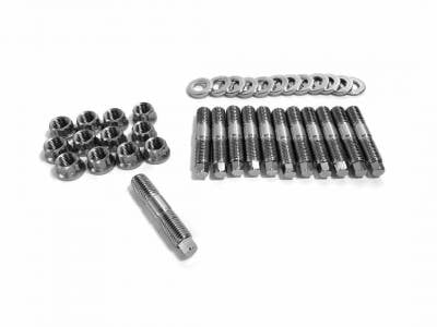 Fleece Performance  - Fleece Performance Exhaust Manifold Stud Kit - 7mm External Hex Head