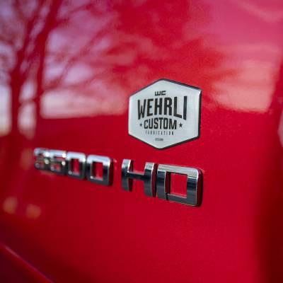 Wehrli Custom Fabrication - Wehrli Custom Badge Gel Stickers - Image 1