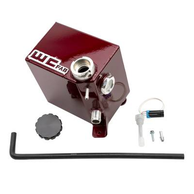 Wehrli Custom Fabrication - 2017-2019 L5P Duramax OEM Placement Coolant Tank Kit