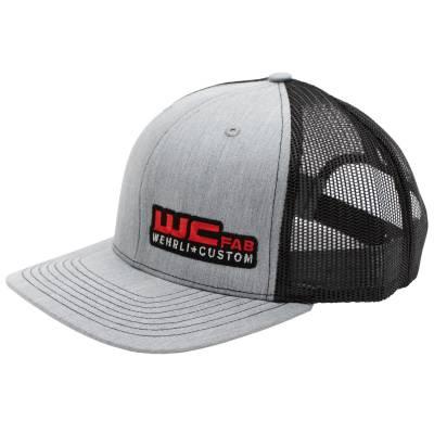 Apparel & Merchandise - Hats - Wehrli Custom Fabrication - Snap Back Hat Heather Grey/Black WCFab