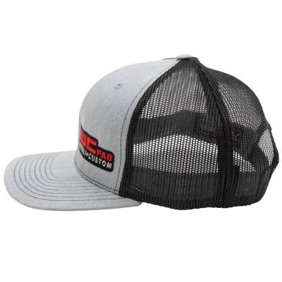 Wehrli Custom Fabrication - Snap Back Hat Heather Grey/Black WCFab - Image 3