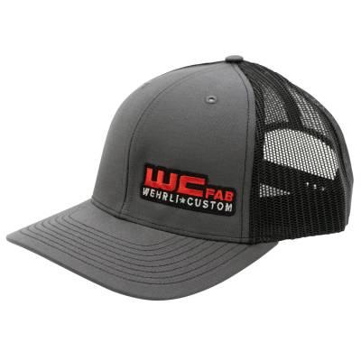 Apparel & Merchandise - Hats - Wehrli Custom Fabrication - Snap Back Hat Charcoal/Black WCFab