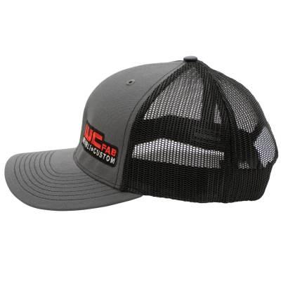 Wehrli Custom Fabrication - Snap Back Hat Charcoal/Black WCFab - Image 3