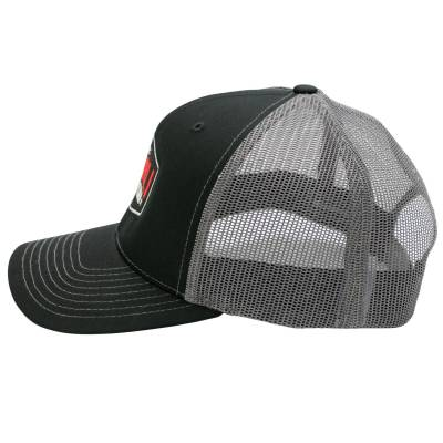 Wehrli Custom Fabrication - Snap Back Hat Black/Charcoal Badge - Image 3