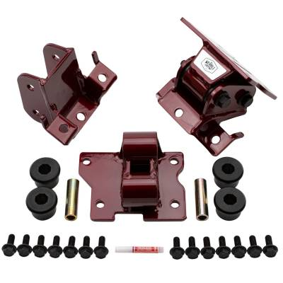 2006-2007 LBZ - Engine Parts & Gaskets - Wehrli Custom Fabrication - 2001-2010 Duramax HD Engine Mounts