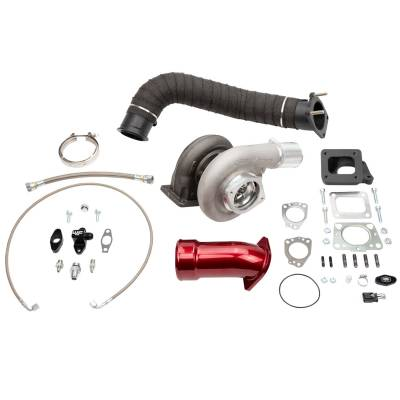 Wehrli Custom Fabrication - 2017-2019 L5P Duramax S300 Single Turbo Install Kit