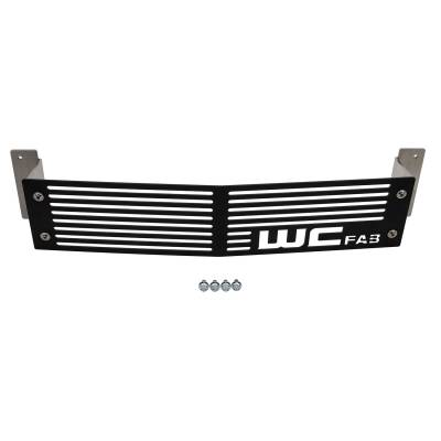 Wehrli Custom Fabrication - 2015-2019LML/L5PDuramax Chevrolet Silverado Bumper Grille - Image 2