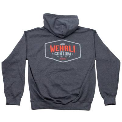 Apparel & Merchandise  - Sweatshirts & Jackets - Wehrli Custom Fabrication - Men's Pullover Hoodie