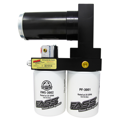 FASS Fuel Systems - Fass Titanium Signature Series 140 GPH Lift Pump for 1999-2007 7.3L & 6.0L Powerstroke - Image 2