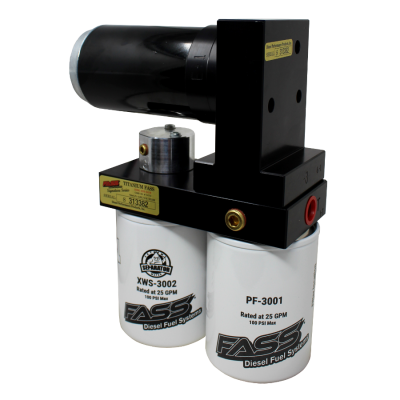 FASS Fuel Systems - Fass Titanium Signature Series 140 GPH Lift Pump for 1999-2007 7.3L & 6.0L Powerstroke - Image 1