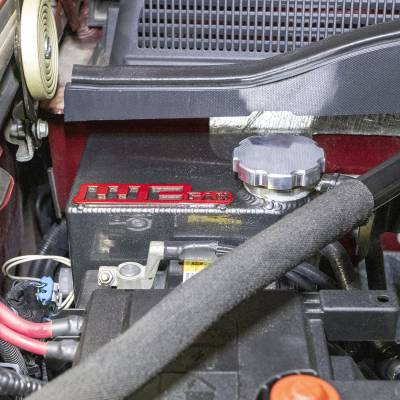 Wehrli Custom Fabrication - 2017-2019 L5P Duramax OEM Placement Coolant Tank Kit - Image 3